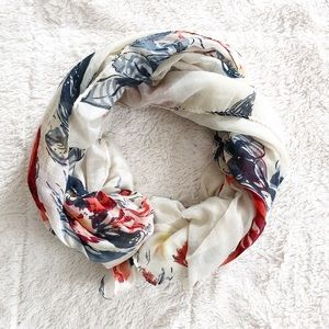 Accessories - Floral Printed Scarf